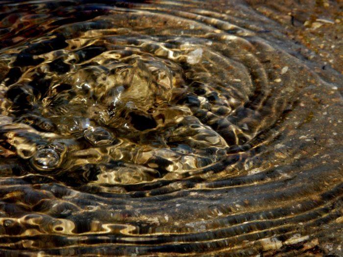 コントレクセヴィルで採れる湧き水