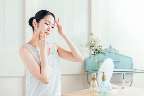 皮膚常在菌の表皮ブドウ球菌が少ない敏感肌の女性